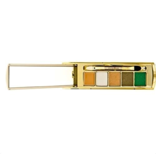 Mirenesse Idol Eye Lift Mineral Youth Eye Shadow Palette With Renovage Green