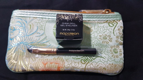 Napoleon Perdis China Doll eyeliner equinox eyeliner brush bag