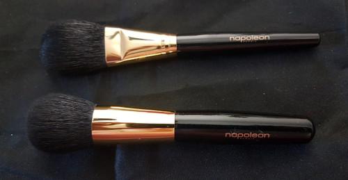 Napoleon Perdis Travel Makeup Foundation blush Brush Duo