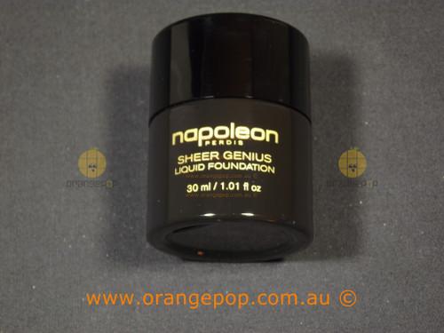 Napoleon Perdis Sheer Genius Liquid Foundation SPF 22 Look 1 NWOB