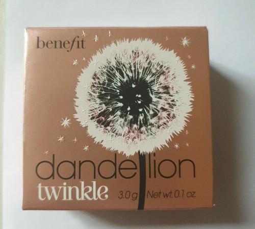 Benefit Cosmetics Box O Dandelion Twinkle Powder Blush 3g Full Size