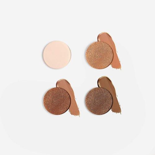 Mirenesse 10 collagen airbrush liquid powder foundation  27 cinnamon 28 cocoa 30 espresso