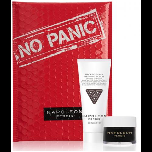 NAPOLEON PERDIS Bamboo Charcoal Powder Kaolin Peel-Off Mask & Refining scrub $65