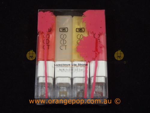 Napoleon Perdis Set Luscious Lip Shine Mini Set