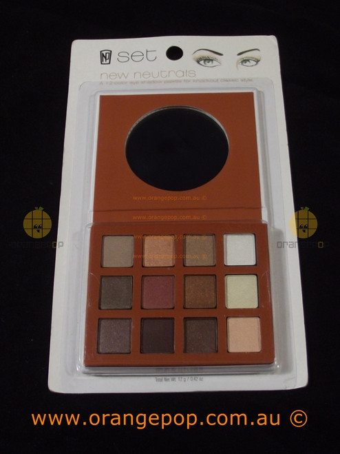 Napoleon Perdis Set 12 colour Eyeshadow Palette New Neutrals