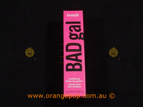 Benefit Cosmetics BADgal Smoldering Black Eye Pencil Discontinued line