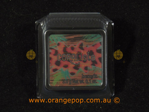 Benefit Cosmetics Box O Powder Coralista Deluxe mini 3g