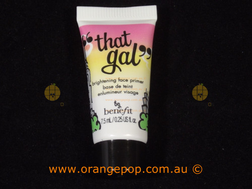 "Benefit Cosmetics ""That Gal"" Deluxe sample 7.5ml brightening face primer"