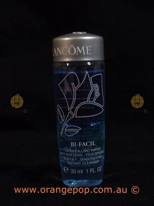 Lancôme Bi-Facial Non Oily Instant Cleanser Makeup Remover Sensitive Eyes 30ml