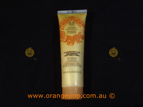 The Body Shop Nutmeg and Vanilla Hi-Glimmer body Glaze 150ml