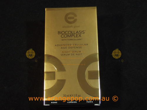 Elizabeth Grant Biocollasis Complex. Advanced Cellular Age Defense Night Serum 30ml