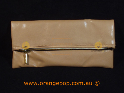 Napoleon Perdis Limited Edition Tanned Leather look makeup bag/clutch