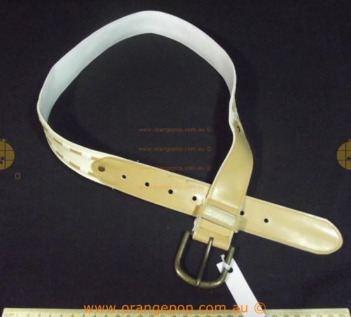 Billabong cream and tan Women's Ladies Fashion Belt