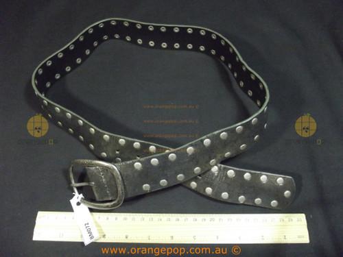 VIA SPIGA Metallic grey leather Women's Ladies Fashion Belt