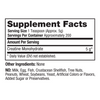 Creatine Monohydrate Supplement Facts 1000 count