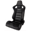 Limited Edition RRS Seat Diamond Stitched cover as Standard Ideal for Fast Road & Track Days Designed with 3 & 4 Point Harnesses In Mind Mount Using Our Subframe & Slider Combination Reclining Bucket Seat Forward Tilt Enabled