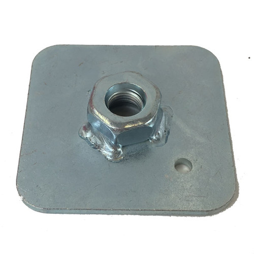 Weld in Stress Plate Compatible with Harness Eye Bolts