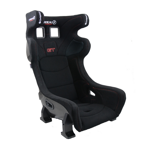 FIA 8855-1999 Approved Open Head Restraint HANS Zone for Additional Comfort 3 Composite Options 2 Width Options Compatible with 4/5/6 Point Harnesses