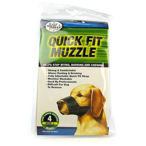 Muzzle Quick Fit Size 4