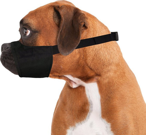 Muzzle Quick Fit Size 3XL  (Medium, For Boxer Type Breeds With Short Snout)