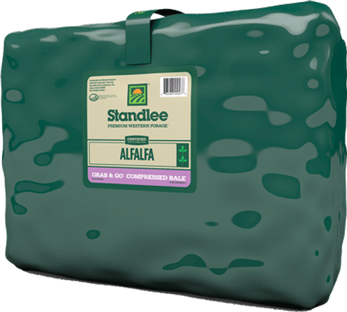 Standlee Certified Alfalfa Grab and Go Bale 55#