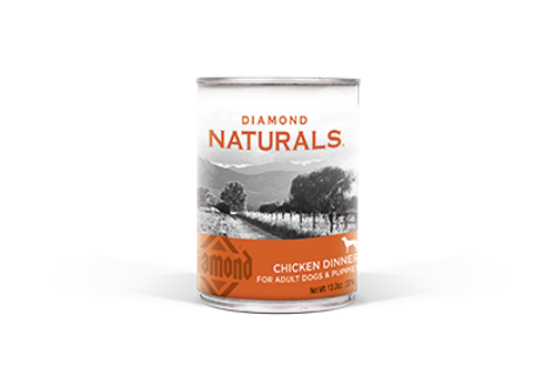 Diamond Naturals Chicken Canned Dog Food