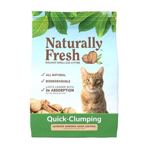 Naturally Fresh Quick Clumping Cat Litter (Walnut Shell), 10 lbs