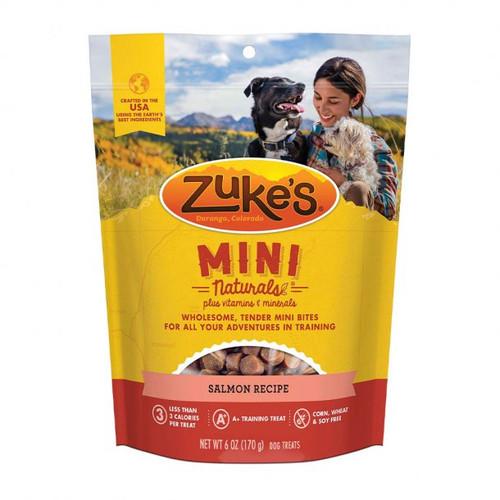 Zuke's Mini Naturals Salmon Recipe, 6 oz