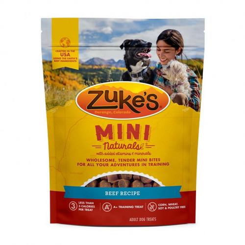 Zuke's Mini Naturals Beef Recipe, 6 oz