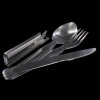 Bushcraft Lightweight Knife, Fork and Spoon Set