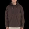 Man Wearing Dark Brown 5.11 Taclite Anorak Jacket