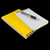 Rite in the Rain Top Spiral Notebook Yellow