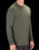 Person Wearing 5.11 Range Ready Merino Wool Long Sleeve Top In Green