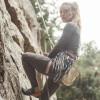 TAD Women Huntress Henley Heather Grey