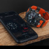Casio G-Shock Mudmaster Bluetooth Carbon Core Guard Orange