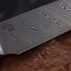 Viper Key Damascus Carbon Fibre Bronze
