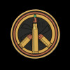 Maxpedition Peace Bullet Morale Patch
