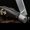 Otter Anchor Knife II Grenadill Carbon