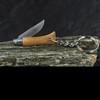 Opinel Beech No.2 Inox Keyring