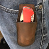 Boker Magnetic Leather Pouch Brown Small