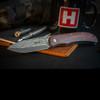 Boker Plus Exskelibur 1 Damascus Cocobolo On Wood