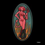 Maxpedition Devil Girl Patch