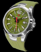 Swiss Alpine Military Gents Stainless