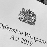 Offensive Weapons Act 2019