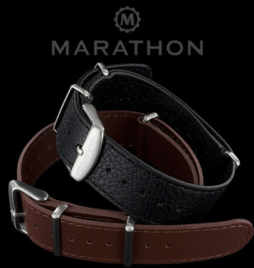 Marathon Leather NATO Watch Strap
