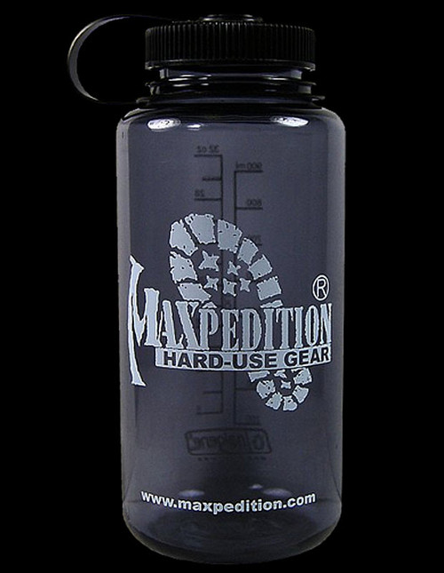 Maxpedition Wide-Mouth Nalgene - Dark Grey