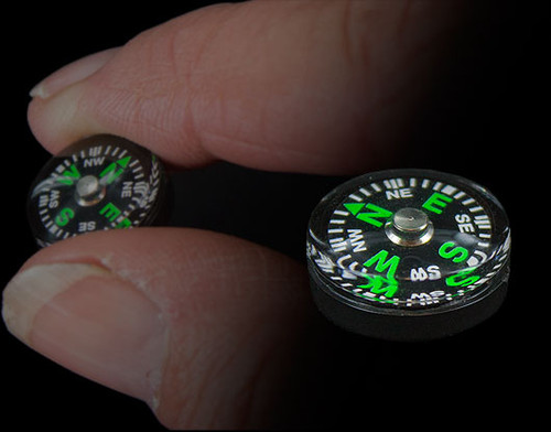 Bushcraft Explorer Button Compass WAS £0.95