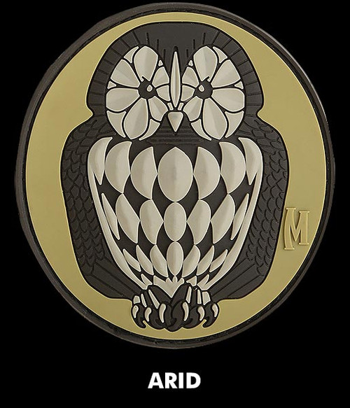 Maxpedition Owl 3D PVC Morale Patch