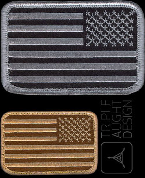 TAD US Flag Patch Reversed