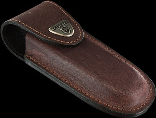 Victorinox Pouch Multi Layer Brown Leather for 2, 3, 4 or 5 Layer Knives